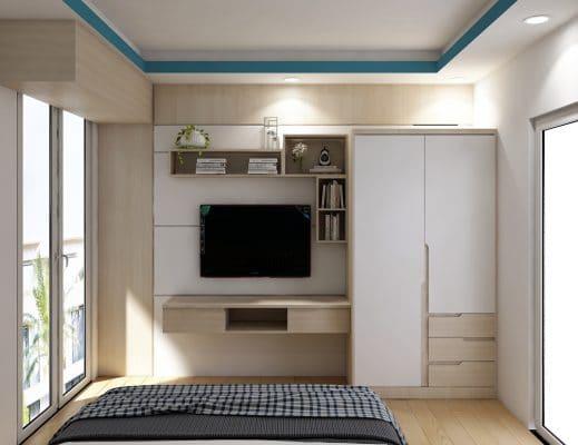 Thiết kế nội thất phòng ngủ con trai ảnh 2