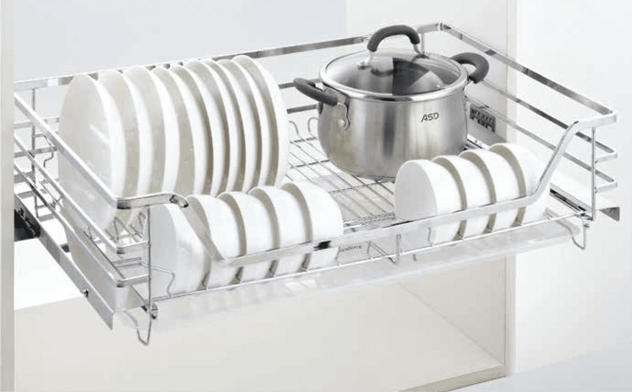 Phụ kiện tủ bếp thông minh - Giá xoong nồi