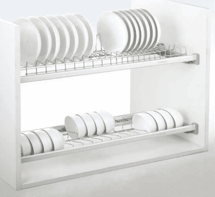 Phụ kiện tủ bếp thông minh - Giá chén bát