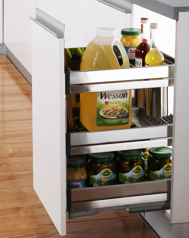 Phụ kiện tủ bếp thông minh - Kệ gia vị