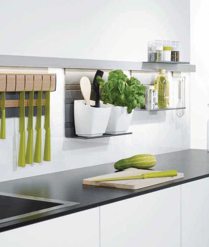 Phụ kiện tủ bếp thông minh - Giá treo