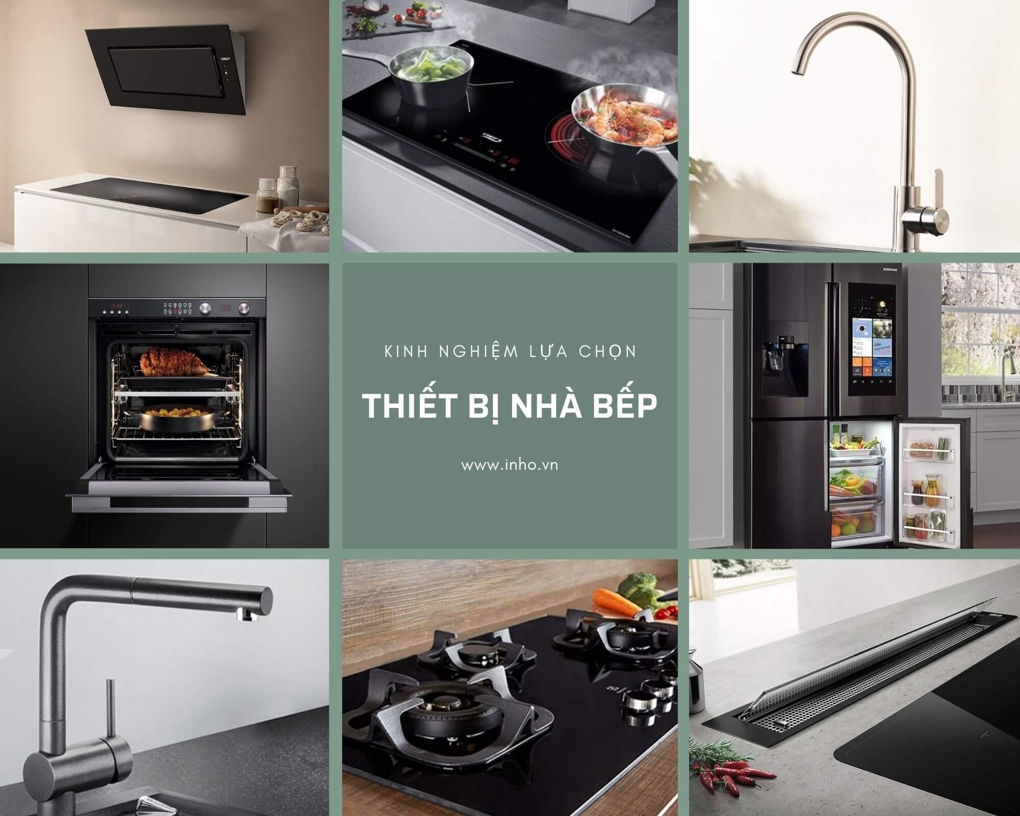 Hình ảnh báo giá thiết bị nhà bếp